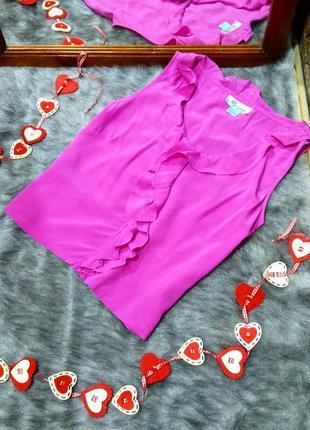#розвантажуюсь блуза кофточка из натурального шелка monsoon