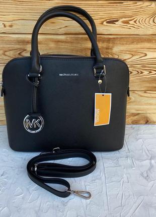 Женская сумка Michael Kors Cindy жіноча через плечо чорна черная