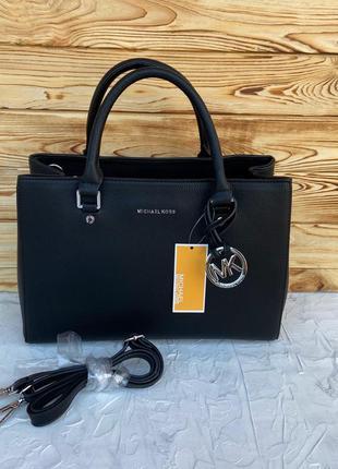 Женская сумка на плечо чёрная чорна жіноча Michael Kors