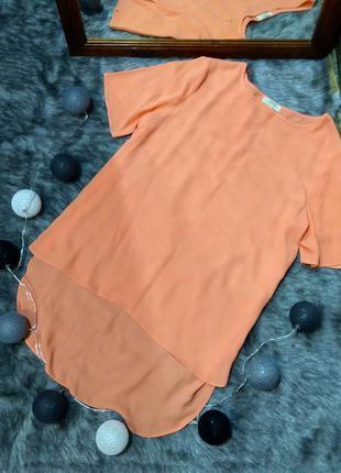 #розвантажуюсь блуза топ кофточка с удлиненной спинкой papaya