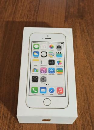 Пустая коробка от iPhone 5s 16gb