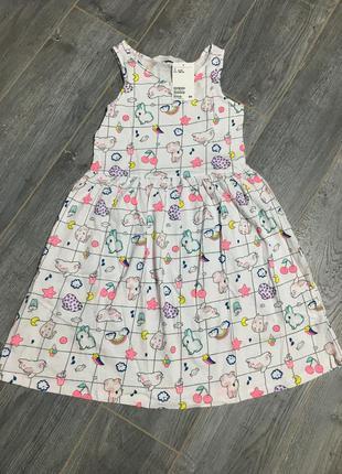 Платье, сарафан h&m яркое лето
