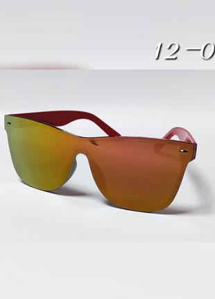 Детские солнцезащитные очки зеркальные