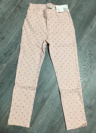 Штаны, трегинсы h&m, плотненькие двухнитка