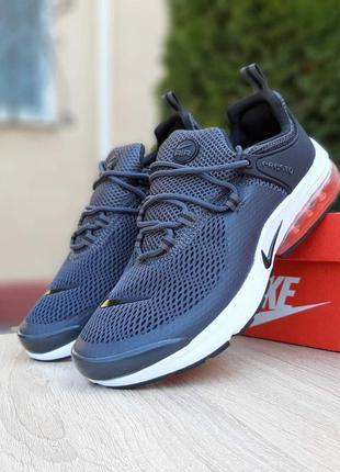 Nike air presto 🔺 мужские кроссовки найк еир престо серые