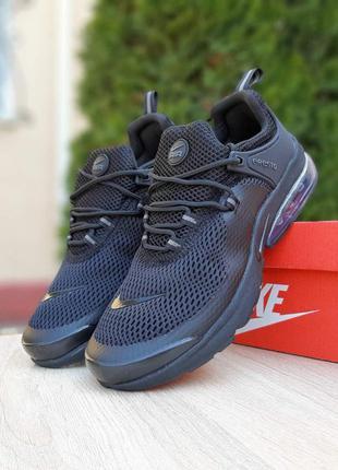 Nike air presto 🔺 мужские кроссовки найк еир престо черные