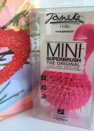 Расческа janeke mini superbrush the original italian. оригинал...