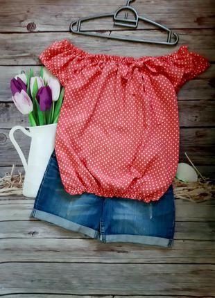 Стильная блузка хлопок