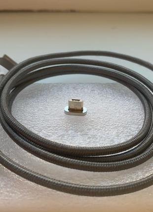магнітний data кабель micro-usb 1 метр
