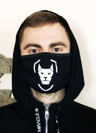 Защитная маска Miracle Armor black