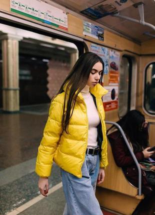 Женская куртка весна/осень 3 цвета
