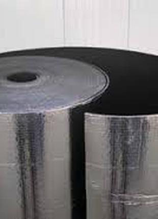 Вспененный каучук фольга самоклей 9мм.