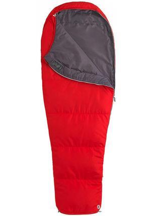 Спальний мішок marmot nanowave 45 long left zip team red