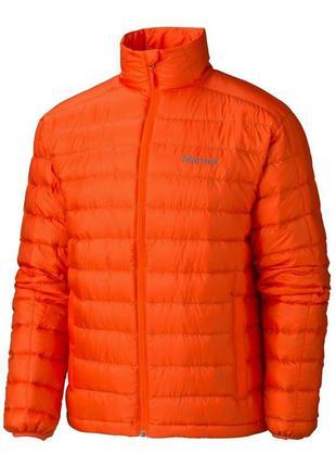 Куртка чоловіча marmot zeus jacket s sunset orange