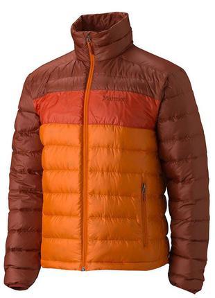 Куртка чоловіча marmot ares jacket xl vintage orange - mahogany
