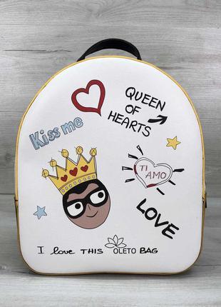 Маленький вмісткий рюкзак жіночий. дуже класний, дивіться доп....