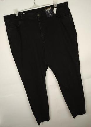 Джинсы скинни брюки зауженные стрейчевые к низу большой размер...