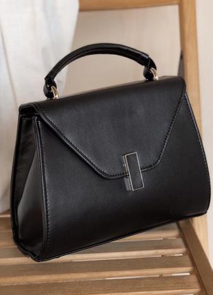 Лаконичная сумка с поворотником (есть цвета)