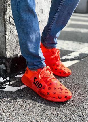 Кроссовки louis vuitton x supreme x adidas nmd