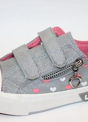 Модные серебряные кеды для девочки серебро модні срібні кеди с...