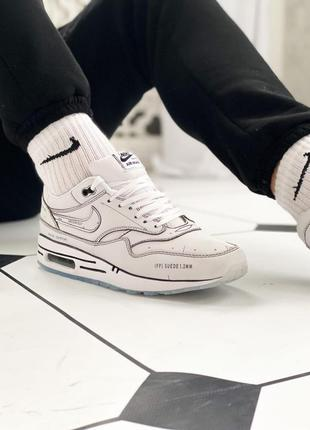 Кроссовки nike air max 1 schematic