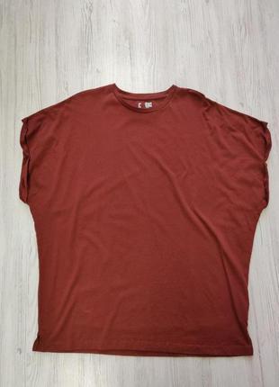 Распродажа до 1 мая🆘 удлиненная футболка большой оверсайз с по...