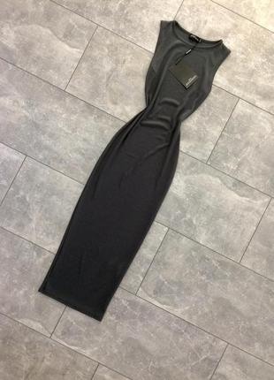 Новое миди платье