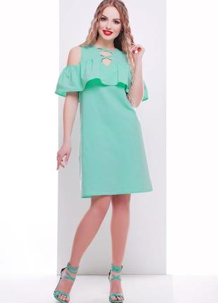 Летний легкий сарафан трапеция легкое платье плаття легка сукн...