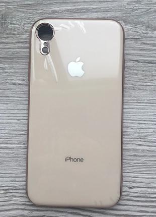 Чехол силиконовый Soft Case для iPhone XR (Бежевый)