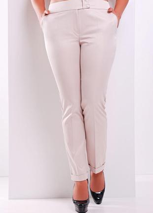 Узкие деловые брюки дудочки вузькі ділові штани на работу в оф...
