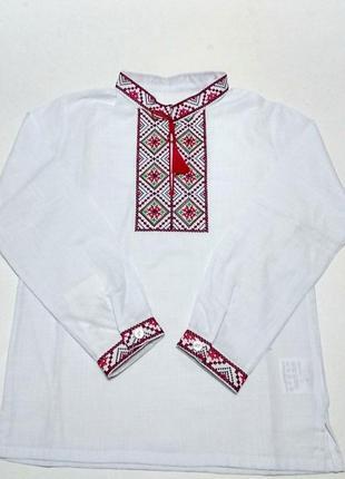 Вишиванка сорочка вишита на хлопчика вышиванка рубашка вышита ...