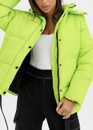 Стильная куртка курточка пуффер оверсайз puffer oversize asos ...
