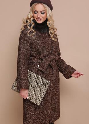 Зимнее зимове тепле пальто утепленное с мехом шерстяное норма ...