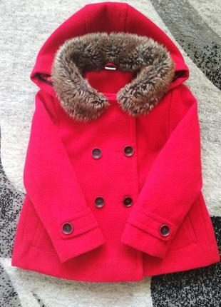 Пальто tu next zara, пальтишко, плащик, плащ, курточка, куртка...