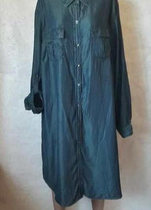 Новое мега просторное шикарное платье-рубашка/туника/платье ми...
