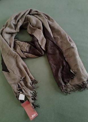 Лёгкий двухцветный шарф