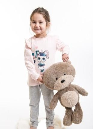 Красивая детская пижама домашний комплект с куклой lоl принт с...