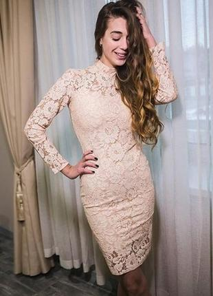 Нежное нарядное кружевное гипюровое платье мереживна сукня пла...
