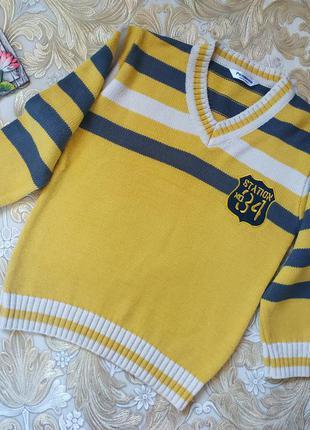 Пуловер для мальчика. 8-9 лет