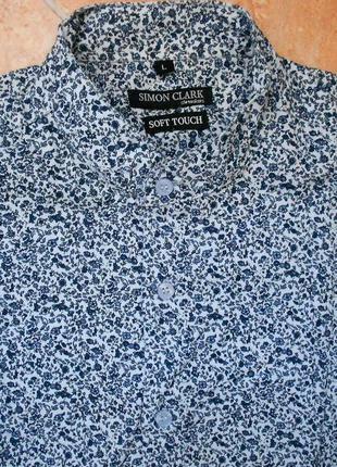 Рубашка simon clark размер l (50-52)