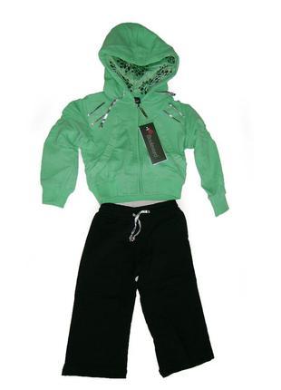 Трикотажный спортивный костюм для девочек boulevard
