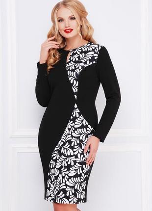 Элегантное платье плаття сукня миди міді большого размера вели...