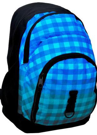 Вместительный рюкзак в клетку PASO 33L, 14-1208C