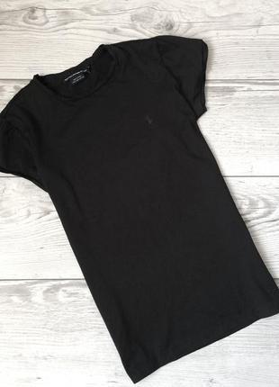 Чёрная футболка, ralph lauren sport, s