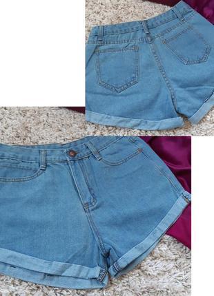 Очень стильные джинсовые шорты с высокой посадкой, p. 6-8