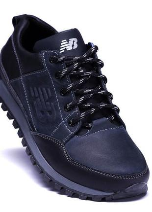 Кожаные мужские кроссовки шкіряні чоловічі кросівки наложка об...