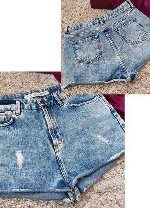 Мега стильные короткие джинсовые шорты,  denim co, p12-14.
