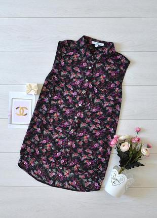 Блуза в квіти new look