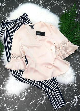 Нежная блузка на запах от new look
