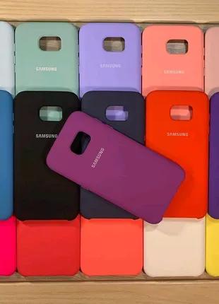 Силиконовый чехол для Samsung Galaxy S7, S7 edge.